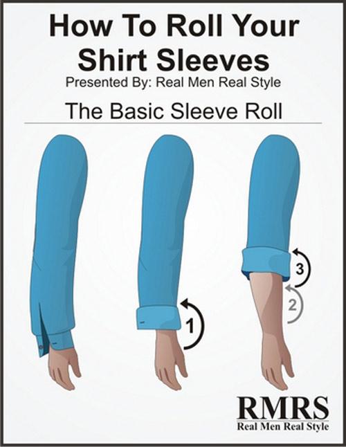 5 kiểu xắn tay áo sơ mi siêu dễ lại đẹp tinh tế anh em nên thử - 3