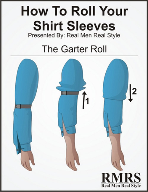 5 kiểu xắn tay áo sơ mi siêu dễ lại đẹp tinh tế anh em nên thử - 5