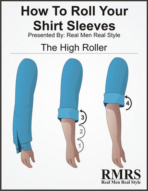 5 kiểu xắn tay áo sơ mi siêu dễ lại đẹp tinh tế anh em nên thử - 4