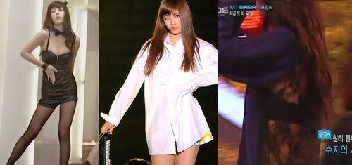 Bạn gái Lee Min Ho khiến fan nóng mắt vì quá gợi tình - 4