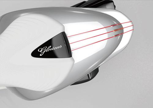 """Yamaha trình làng xe ý tưởng GLORIOUS """"cực độc"""" - 3"""