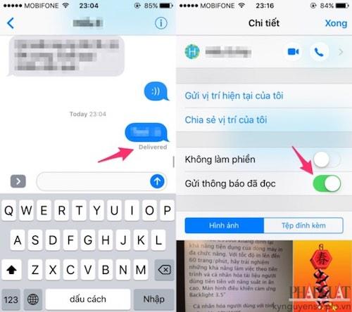 Cách đọc tin nhắn nhưng không hiện thông báo đã xem - 3