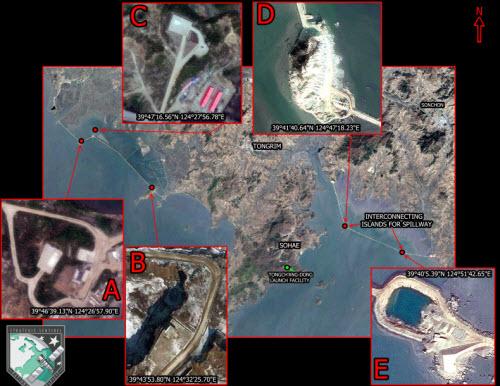 Triều Tiên đang xây đảo để phóng tên lửa? - 1