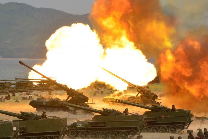 Triều Tiên cùng lúc dọa hủy diệt Mỹ, Nhật và Hàn Quốc - 2