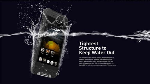 Smartphone Armor Nhật không sợ nước, không sợ rơi - 5