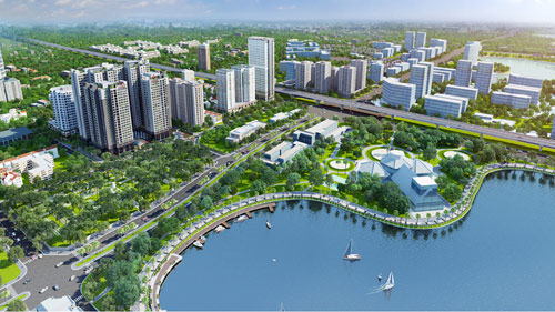 Dự án 4 đường vào với tiến độ xây dựng vượt trội tại trung tâm Hà Nội - 1