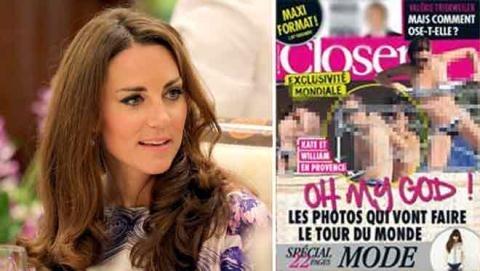 Tung ảnh ngực trần Công nương Kate, báo Pháp bị phạt 36 tỉ - 2