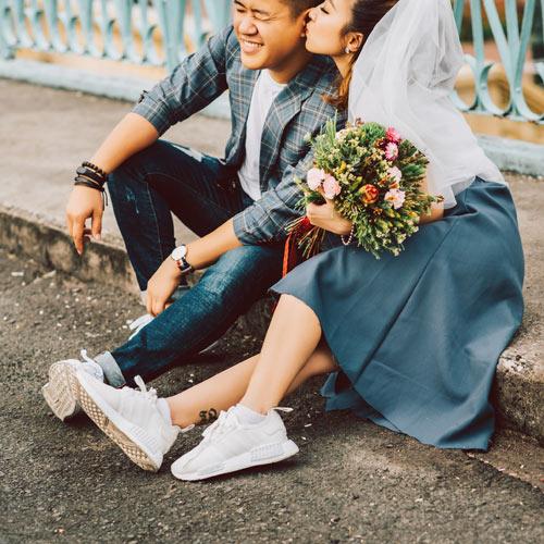 Cặp đôi nắm tay nhau đi khắp ba miền chụp ảnh cưới - 4