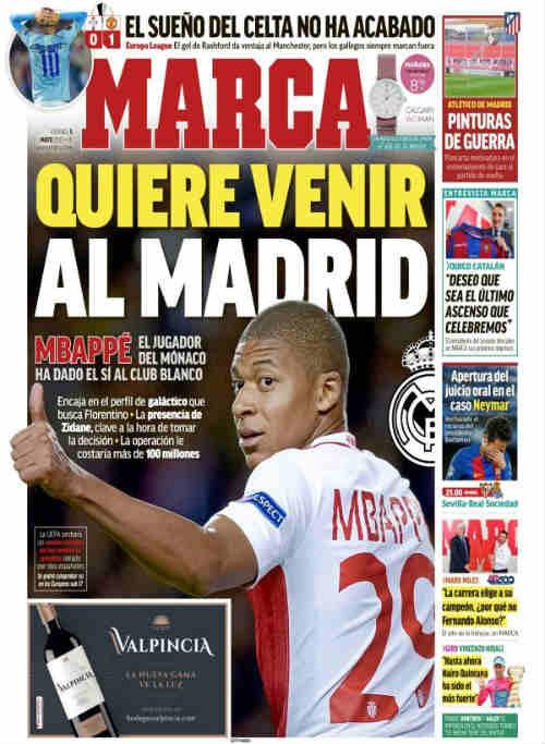 """""""Tiểu Henry"""" Mbappe từ chối MU, gia nhập Real 100 triệu euro - 1"""