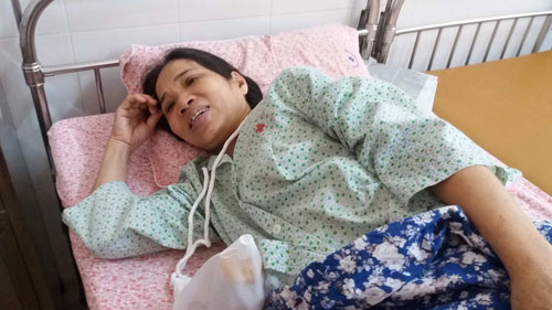 Bà lão 61 tuổi luôn xấu hổ vì nghi ngờ mang thai - 1