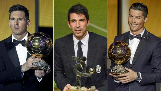 """Messi, Ronaldo kinh sợ: """"Người nhện"""" Buffon đua Bóng vàng - 2"""