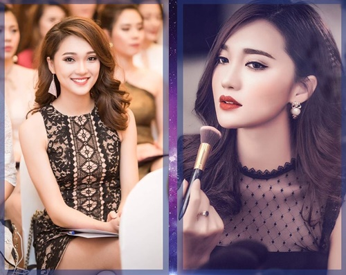 11 nàng mặt xinh đang hot ở cuộc thi hoa hậu Việt - 9