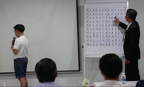 Thiên tài tí hon tiết lộ cách nhớ dãy 120 số nhị phân trong tích tắc - 1