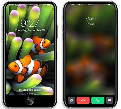 Ngỡ ngàng ngắm ảnh concept iPhone 8 - 1