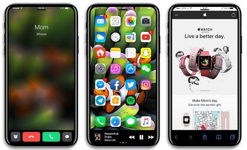 Ngỡ ngàng ngắm ảnh concept iPhone 8 - 2