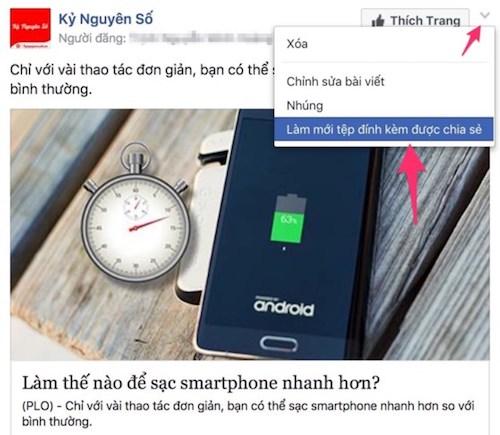 Mẹo thay đổi hình ảnh trên Facebook không bị mất Like - 5