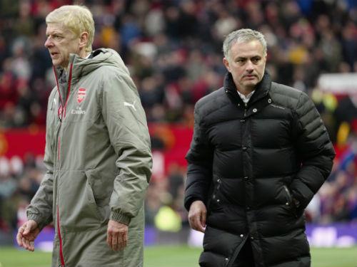 """Mourinho: Chưa giỏi, vẫn """"trên cao nhìn xuống"""" Wenger - 1"""