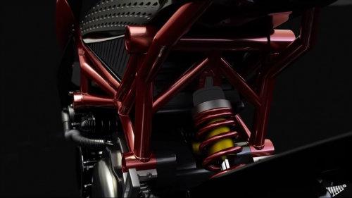 2017 Furion M1: Viễn cảnh tương lai của môtô - 2