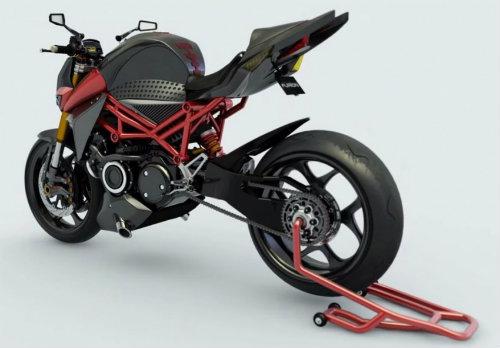 2017 Furion M1: Viễn cảnh tương lai của môtô - 1