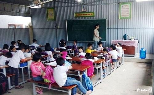 Nghệ An: Hàng trăm học sinh vừa học vừa run vì trường xuống cấp nặng - 5