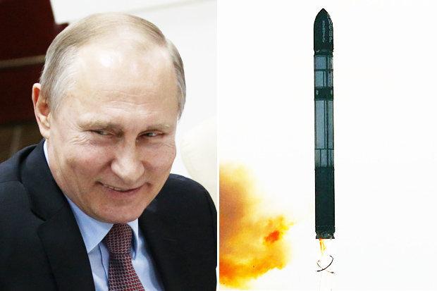 """Tên lửa """"địa ngục hạt nhân"""" của Nga khiến Mỹ lép vế - 1"""
