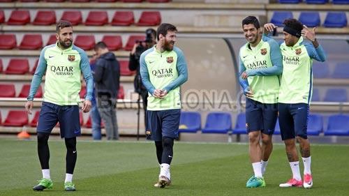 Chi tiết Barcelona - Villarreal: Tưng bừng với Messi, Suarez, Neymar (KT) - 10