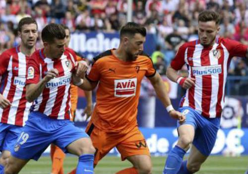 Atletico Madrid - Eibar: Thẻ đỏ đổi 3 điểm quý như vàng - 1
