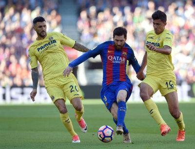 Chi tiết Barcelona - Villarreal: Tưng bừng với Messi, Suarez, Neymar (KT) - 4