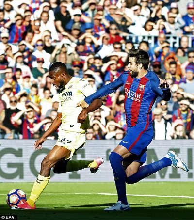 Chi tiết Barcelona - Villarreal: Tưng bừng với Messi, Suarez, Neymar (KT) - 5