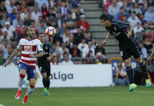 Granada - Real Madrid: Choáng váng với siêu dự bị - 1