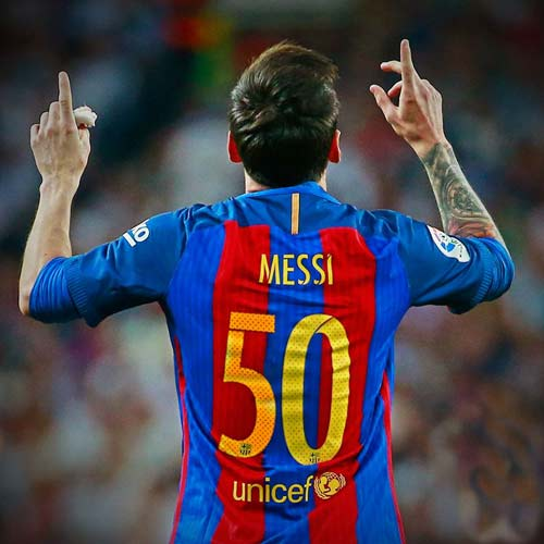Messi đua Giày vàng với sao lạ, mất ngôi Vua kiến tạo - 2