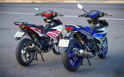 Ngắm bộ đôi Yamaha Exciter 150 biển tứ quý độ 'ngầu' của biker Việt - 2