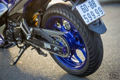 Ngắm bộ đôi Yamaha Exciter 150 biển tứ quý độ 'ngầu' của biker Việt - 9
