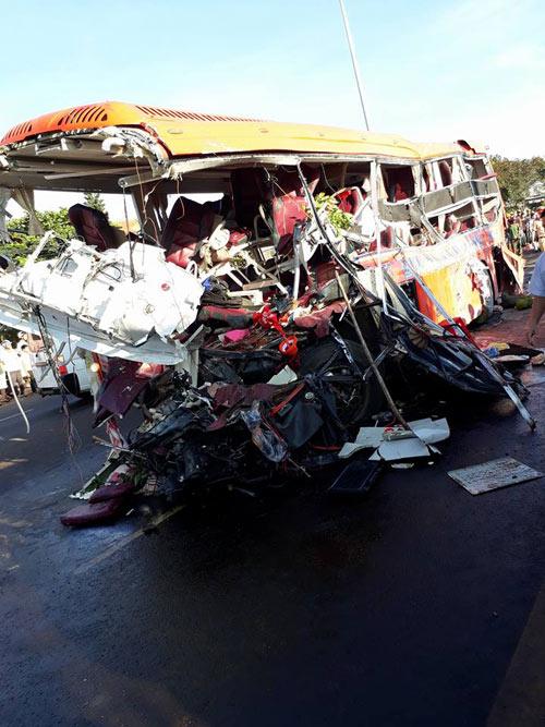 Xe khách trong vụ tạn kinh hoàng ở Gia Lai ngắt giám sát hành trình - 1