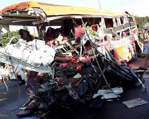 Ảnh: Hiện trường vụ tai nạn thảm khốc ở Gia Lai - 3