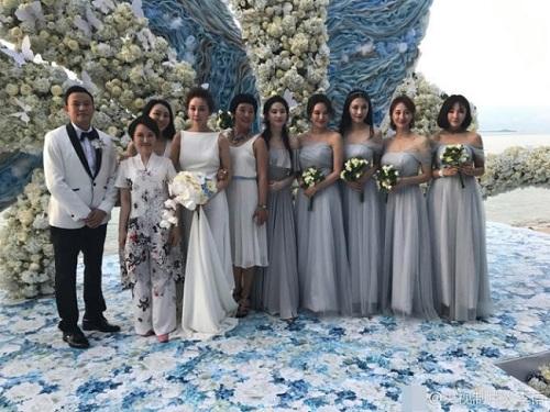 Đi đám cưới, Lưu Diệc Phi gợi cảm lấn át cả cô dâu - 2