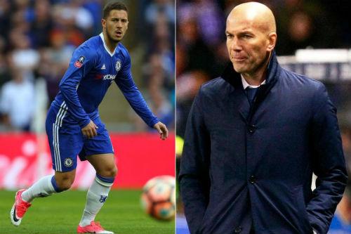 """Ngược đời ở Real: Zidane & """"Bố già"""" bất đồng vì Hazard - 2"""