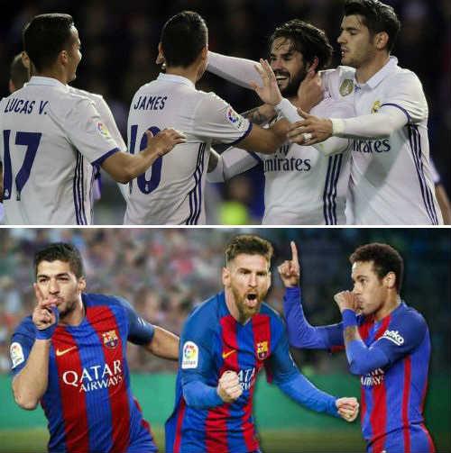 """Đua Liga: Barca có """"tam tấu"""", Real có cả """"dàn hòa tấu"""" - 1"""
