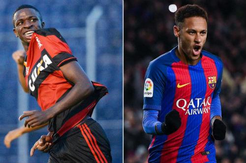 """Vượt Barca, Real chi 45 triệu euro tậu """"Neymar mới"""" 16 tuổi - 1"""