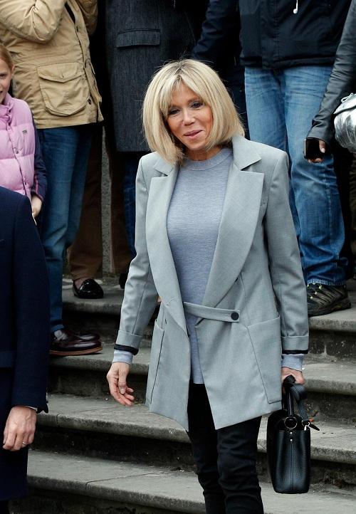 Hơn chồng 24 tuổi, vợ ứng viên Tổng thống Pháp vẫn trẻ bất ngờ - 2