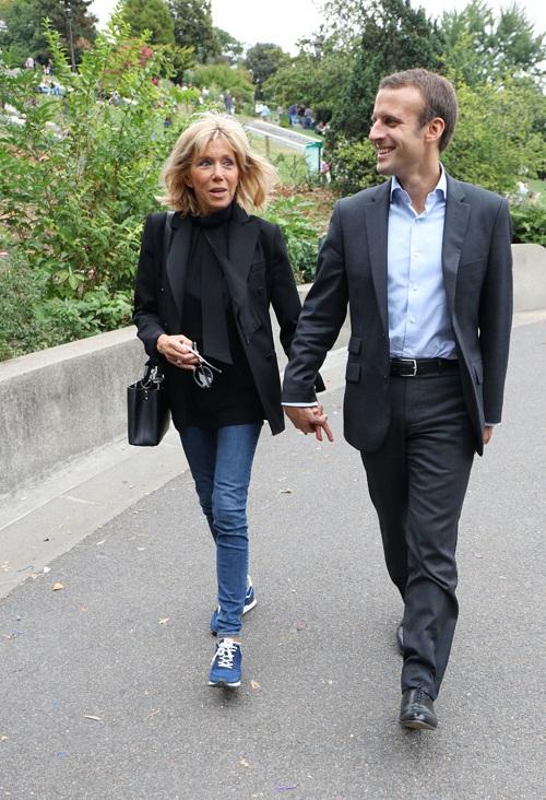 Hơn chồng 24 tuổi, vợ ứng viên Tổng thống Pháp vẫn trẻ bất ngờ - 7
