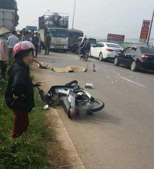 Hà Nội: Cô gái trẻ bị xe tải cán chết thương tâm - 1