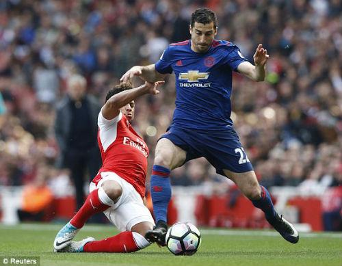 "Đại chiến Arsenal - MU: Wenger thoát ""lời nguyền"" Mourinho - 2"