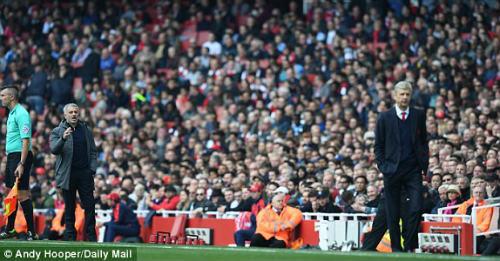 "Đại chiến Arsenal - MU: Wenger thoát ""lời nguyền"" Mourinho - 11"