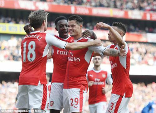 "Đại chiến Arsenal - MU: Wenger thoát ""lời nguyền"" Mourinho - 13"