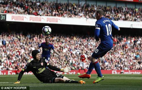 "Đại chiến Arsenal - MU: Wenger thoát ""lời nguyền"" Mourinho - 3"