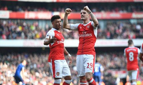 "Đại chiến Arsenal - MU: Wenger thoát ""lời nguyền"" Mourinho - 8"