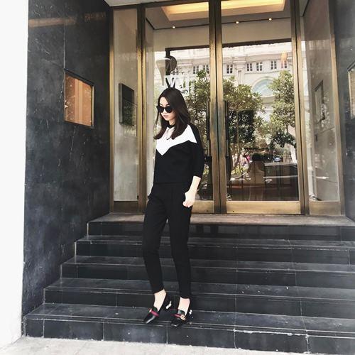 """""""Rũ bỏ"""" hàng Việt hoa hậu Mỹ Linh diện đồ hiệu ở trời tây - 3"""