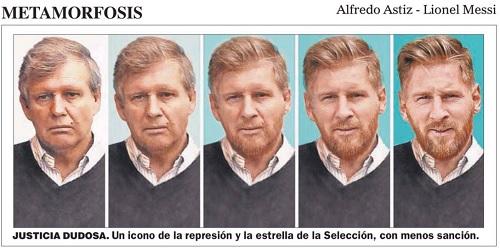 Nghịch lý: Messi thoát án phạt, báo Argentina giễu cợt - 1