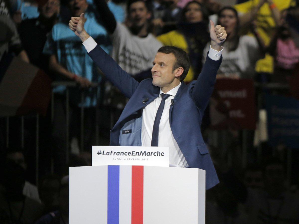 Chân dung tân Tổng thống trẻ nhất lịch sử nước Pháp - 1